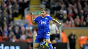 Marc Albrighton moved to Leicester from Aston Villa in 2014.
