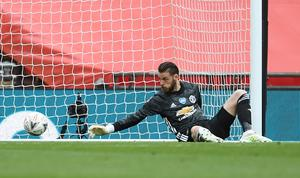 David De Gea made some costly errors for Manchester United last season (Andy Rain/NMC Pool/PA)