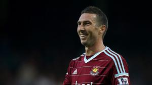 Morgan Amalfitano is a happy man after signing a new contract at West Ham