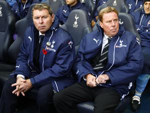 Clive Allen, left, was on the coaching staff at Spurs for a number of years in 2000s (Sean Dempsey/PA)