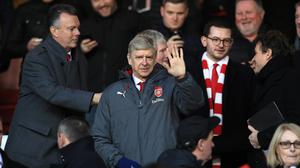 Arsene Wenger's holders suffered a 4-2 defeat at the City Ground