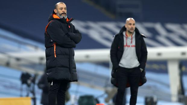 Wolves boss Nuno Espirito Santo is concerned by the latest change to the handball law. (Clive Brunskill/PA)