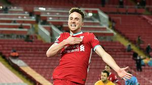 Liverpool returned to the top of the Premier League table following Diogo Jota's winner against West Ham (Peter Powell/PA)