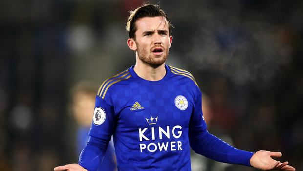 Leicester defender Ben Chilwell recently came under fire from fans (Tim Goode/PA)