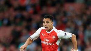 Alexis Sanchez has missed the start of Arsenal's Premier League season through injury.