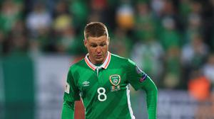 Republic of Ireland's James McCarthy has been the subject of a public feud