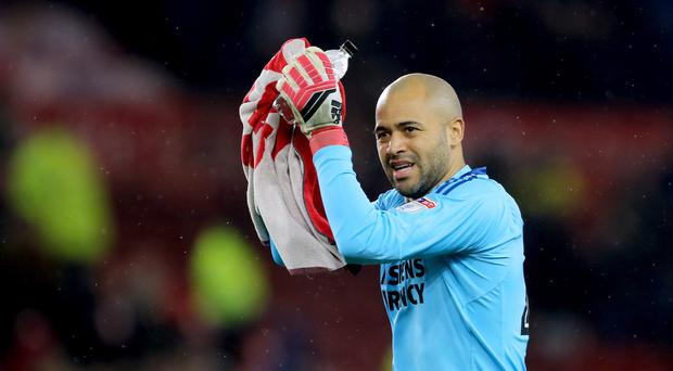 Darren Randolph has returned to West Ham on a deal until 2023 (Richard Sellers/PA)