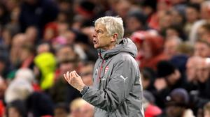 Arsenal manager Arsene Wenger saw his side get back to winning ways at Middlesbrough