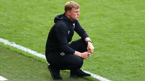 Eddie Howe and Bournemouth suffered late heartache (Michael Steele/NMC Pool/PA)
