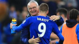 Claudio Ranieri's Leicester will be on TV five times in April and May