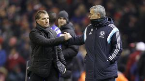 Brendan Rodgers (left) says Jose Mourinho (right) has been unfairly treated by his critics (Peter Byrne/PA)