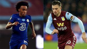 Willian is set to stay at Chelsea, while Manchester United may have to go higher to land Jack Grealish (Nigel French/Adam Davy/PA)
