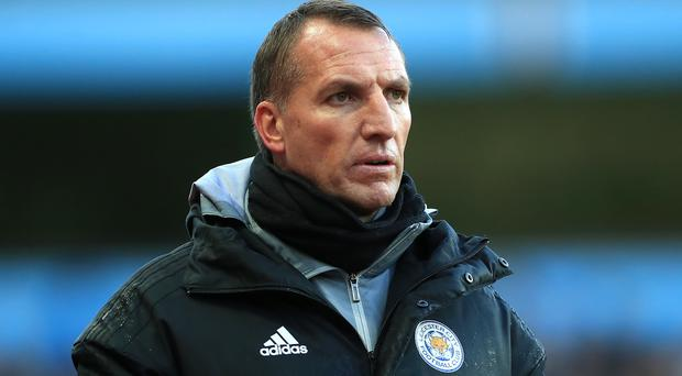 Leicester manager Brendan Rodgers believes former club Liverpool will be 'very hard to stop' en route to the Premier League title. (Mike Egerton/PA)