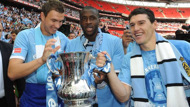 Toure steered City to FA Cup glory in 2011