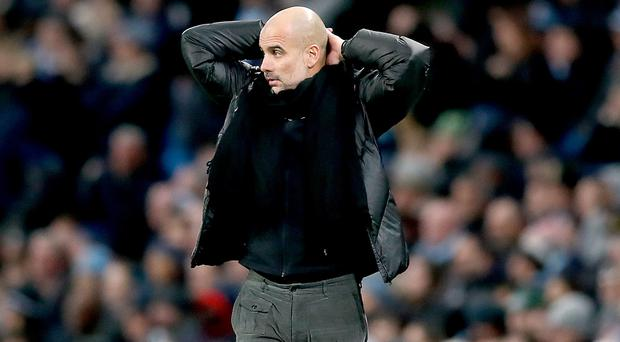 Manchester City manager Pep Guardiola insists he has not got a break clause (Martin Rickett/PA)