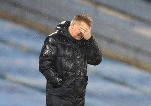 Dean Smith was fuming with decisions against his side (Clive Brunskill/PA)