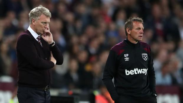 Assistant manager Stuart Pearce (right) has also left West Ham in a change of backroom staff (Nick Potts/PA Wire)