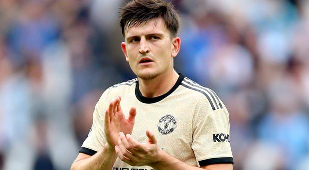 Harry Maguire offered no excuses for Manchester United's loss at Bournemouth (Nigel French/PA)