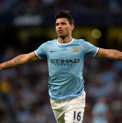 Sergio Aguero is set to make his comeback from injury against Liverpool
