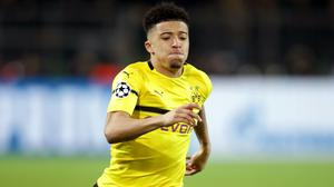 Jadon Sancho seems unlikely to be returning to Manchester City (Adam Davy/PA)