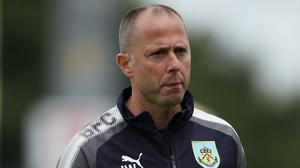 "Burnley coach Ian Woan during the pre-season friendly match at Aggborough, Kidderminster. PRESS ASSOCIATION Photo. Picture date: Saturday July 22, 2017. See PA story SOCCER Kidderminster. Photo credit should read: Nick Potts/PA Wire. RESTRICTIONS: EDITORIAL USE ONLY No use with unauthorised audio, video, data, fixture lists, club/league logos or ""live"" services. Online in-match use limited to 75 images, no video emulation. No use in betting, games or single club/league/player publications."