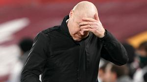Sean Dyche thought Burnley deserved all three points against Brighton (Zac Goodwin/PA)