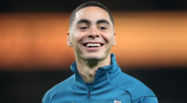 Miguel Almiron is one of six players to return for Newcastle (Nick Potts/PA)