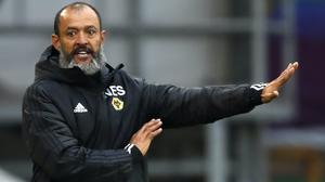 Wolves manager Nuno Espirito Santo will be hoping for big things from the Portuguese youngster (Clive Brunskill/NMC Pool/PA)