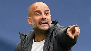 Pep Guardiola believes Manchester City will be playing in the Champions League in 2020/21 (Michael Regan/NMC Pool/PA)