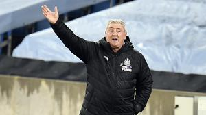 Steve Bruce says avoiding relegation is the main aim for his team (Peter Powell/PA)