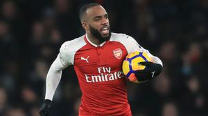 Alexandre Lacazette has not scored for Arsenal since his goal against Manchester United on December 2