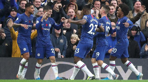 Chelsea made it six wins out of six against Crystal Palace (Yui Mok/PA)