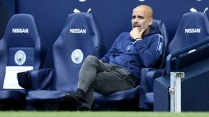 Manchester City manager Pep Guardiola was happy with his side's application against Norwich (Peter Powell/PA)