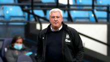 Newcastle head coach Steve Bruce insists the club is not stagnating on his watch (Lee Smith/NMC Pool/PA)