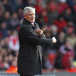Mark Hughes is looking forward to some warmer weather