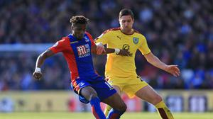 Wilfried Zaha, pictured left, has been one of Palace's most impressive players this season