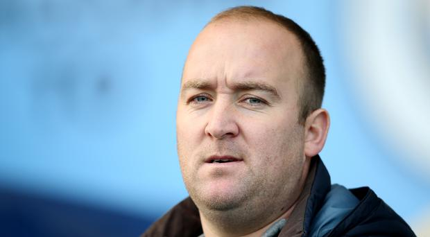 Nick Cushing will leave Manchester City Women to work as an assistant at New York City (Nigel French/PA)