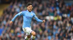 High praise: David Silva has been hailed by his manager