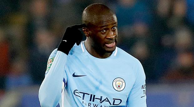 """Former Manchester City midfielder Yaya Toure believes racism is on the rise because fans are """"more stupid"""" (Martin Rickett/PA)"""