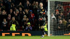 David de Gea produced a string of fine saves to deny Liverpool on Sunday
