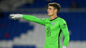 Kepa Arrizabalaga, pictured, has received staunch support from his Chelsea captain Cesar Azpilicueta (Glyn Kirk/PA)