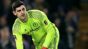 Thibaut Courtois is savouring a second Premier League title in three years