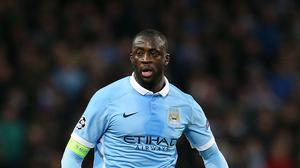Yaya Toure is due to appear in court next week to answer a drink driving charge