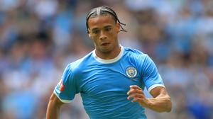 Leroy Sane has been out since the Community Shield (Adam Davy/PA)
