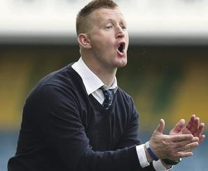 FIghting chance: Steve Lomas has turned things round at Millwall after a shaky start to the season