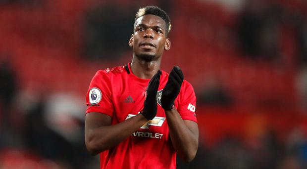 Paul Pogba has only played twice for Manchester United since September (Martin Rickett/PA)