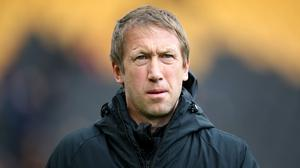 Graham Potter is a big admirer of Manchester City and Pep Guardiola (Nick Potts/PA)