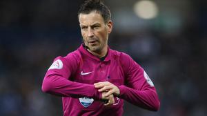 Mark Clattenburg is among the top referees who has been lost to the game in England (Nick Potts/PA)