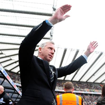 Alan Pardew admitted he decided to dive into the crowd in the spur-of-the-moment