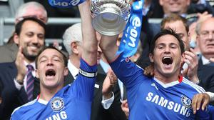Frank Lampard, right, was a key figure for Chelsea for over a decade